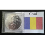 Government issued silver bullion coins from Chad