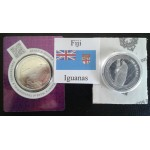 Fiji Iguana government issued silver bullion coins