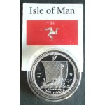 Isle of Man miscellaneous government issued silver bullion coins